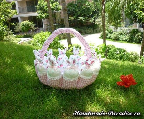 Пасхальные корзинки с кроликами (10)
