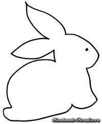 Пасхальные корзинки с кроликами из ткани (4)