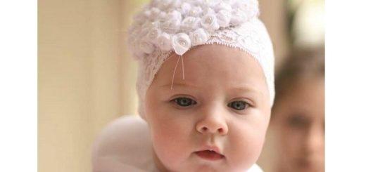 Повязка на голову для ребенка своими руками