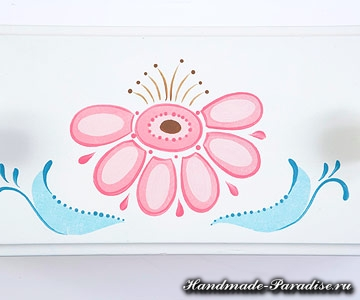Шаблоны для росписи комода (2)