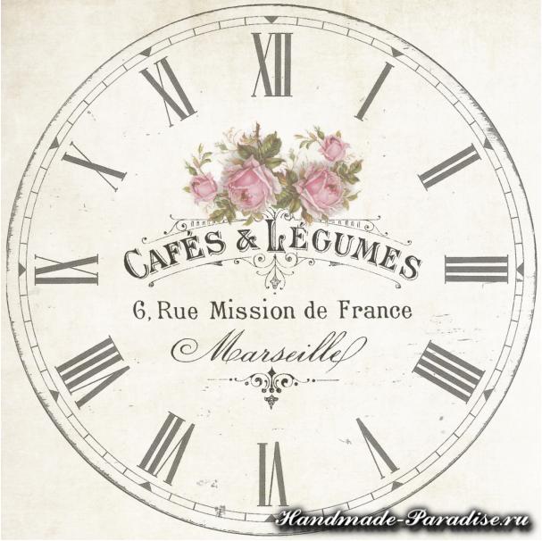 Шаблоны циферблатов часов для рукоделия (1)