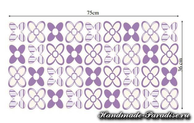 Салфетка из цветов крючком (2)