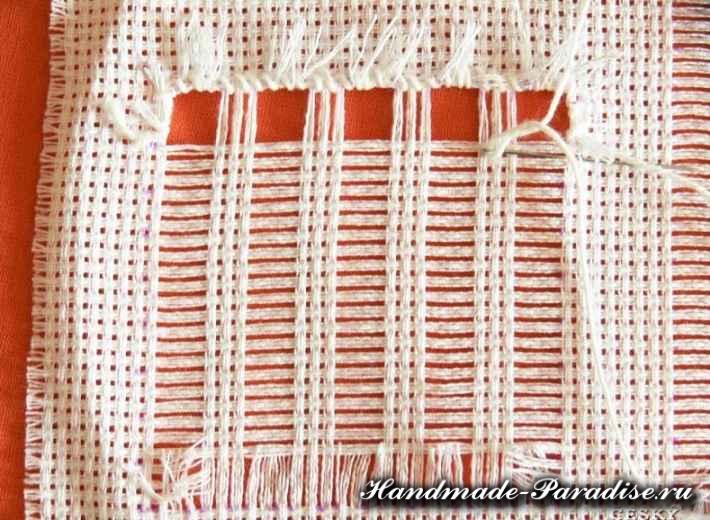 Саше своими руками с вышивкой мережкой (3)