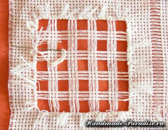 Саше своими руками с вышивкой мережкой (4)