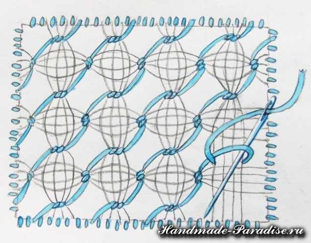 Саше своими руками с вышивкой мережкой (5)