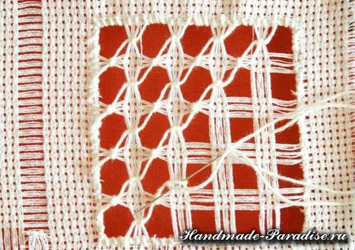 Саше своими руками с вышивкой мережкой (6)