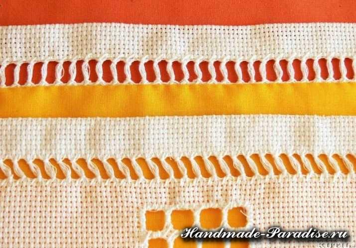 Саше своими руками с вышивкой мережкой (9)