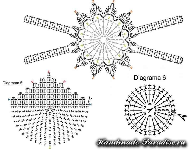 Вязание крючком ковриков (8)
