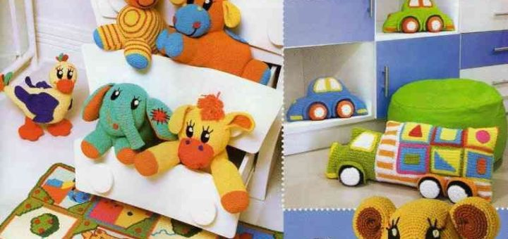 Вяжем детские игрушки крючком. Схемы