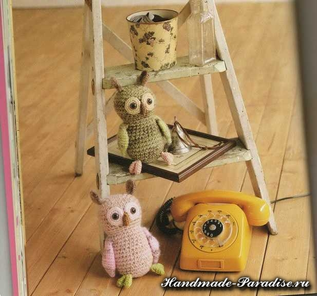 Вяжем игрушки амигуруми