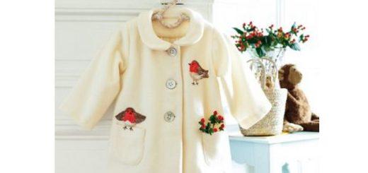 Выкройка пальто для маленькой девочки