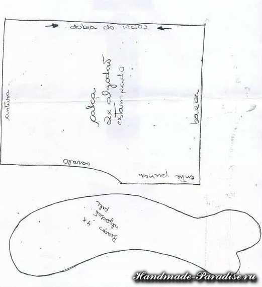 Выкройка текстильных кукол (3)