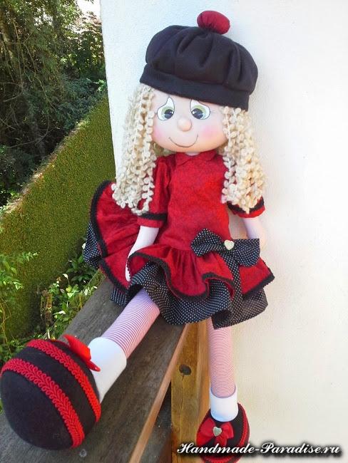 выкройка текстильной куклы