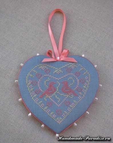 вышивка ко дню Святого Валентина (11)