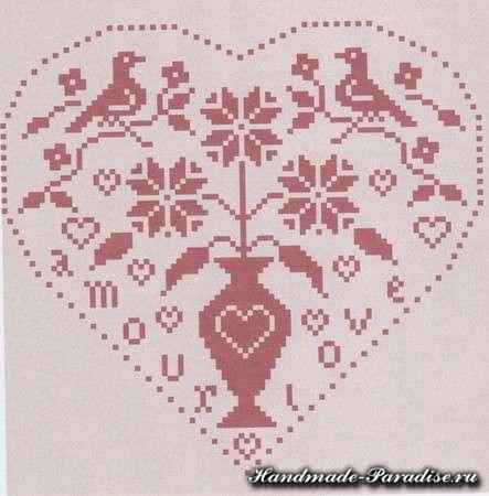 вышивка ко дню Святого Валентина (12)