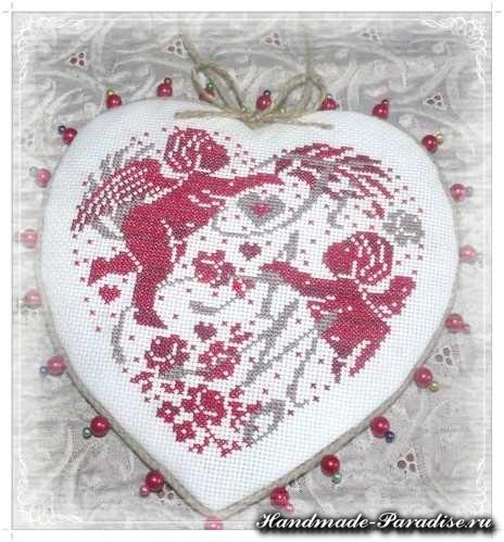 вышивка ко дню Святого Валентина (15)