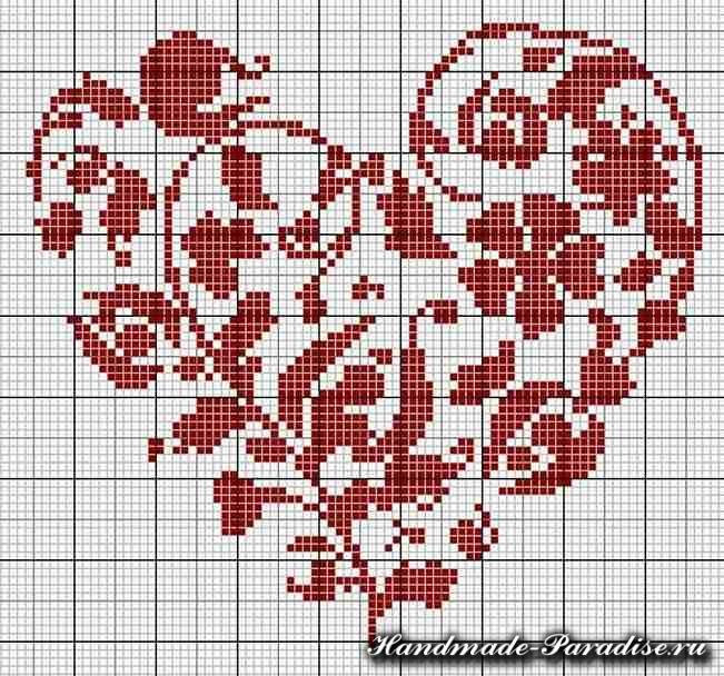 вышивка ко дню Святого Валентина (19)