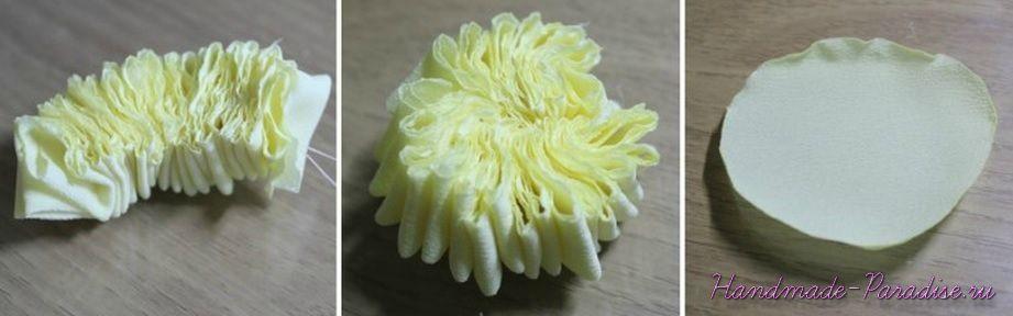 Английская роза Дэвида Остина из ткани (5)