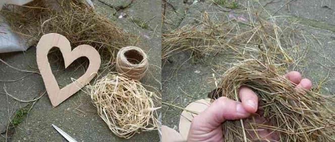 Экостиль. Валентинки из природных материалов (4)