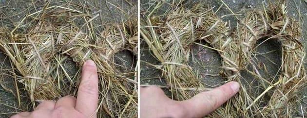 Экостиль. Валентинки из природных материалов (7)