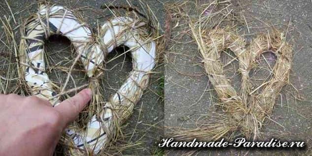 Экостиль. Валентинки из природных материалов (8)