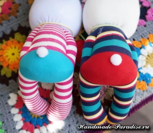 Игрушки из носков - КРОЛИКИ (10)