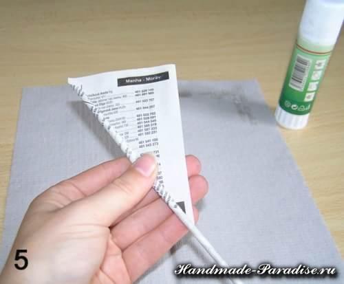 Как крутить трубочки из газет (10)