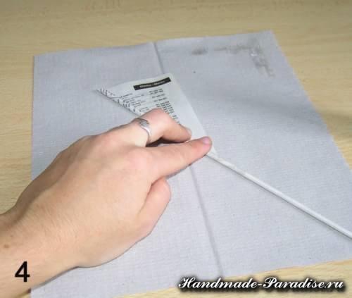 Как крутить трубочки из газет (9)