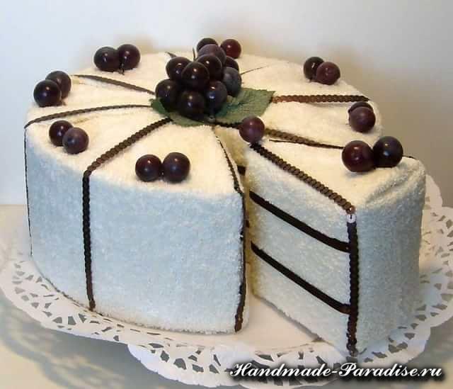 Как сделать торт из полотенец (11)