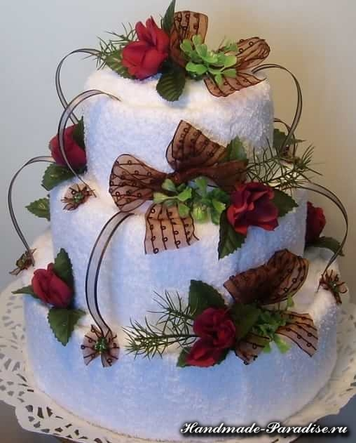 торт из полотенец (14)