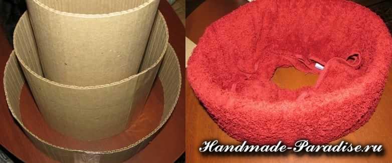 торт из полотенец (15)
