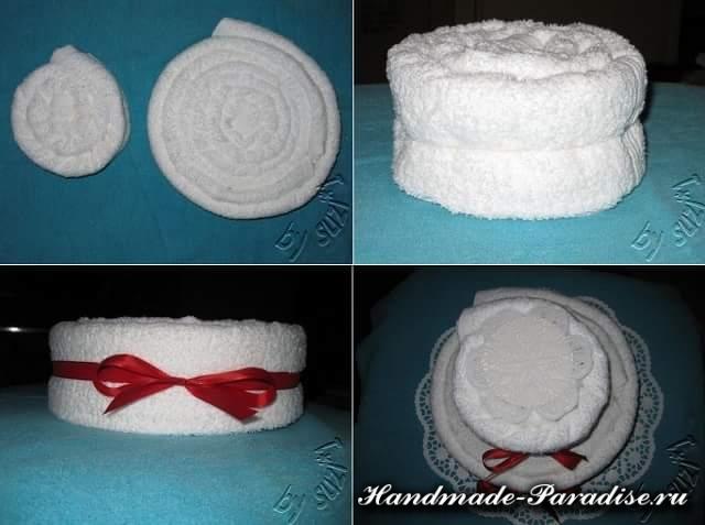 торт из полотенец (7)