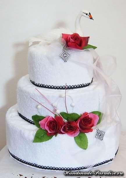 торт из полотенец (9)