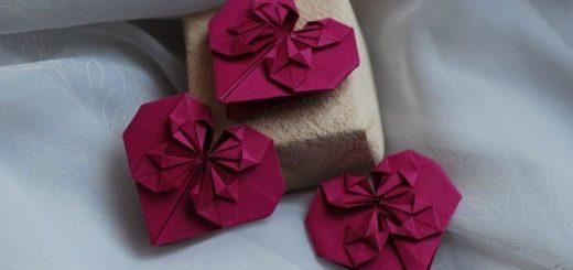 Как сложить сердечко оригами. Мастер-класс