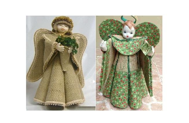 Куколки из фетра своими руками 39