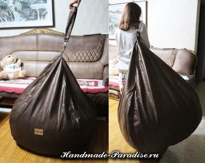 Как сшить кресло мешок своими руками (2)