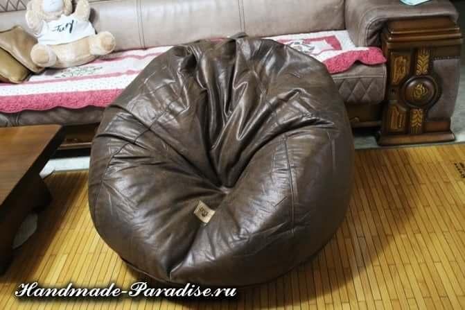 Как сшить кресло мешок своими руками (4)