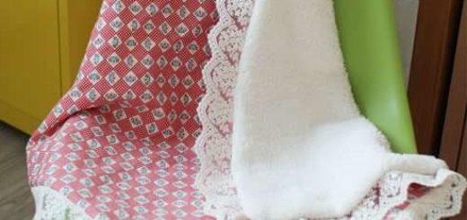 Как сшить теплое одеяло для новорожденного