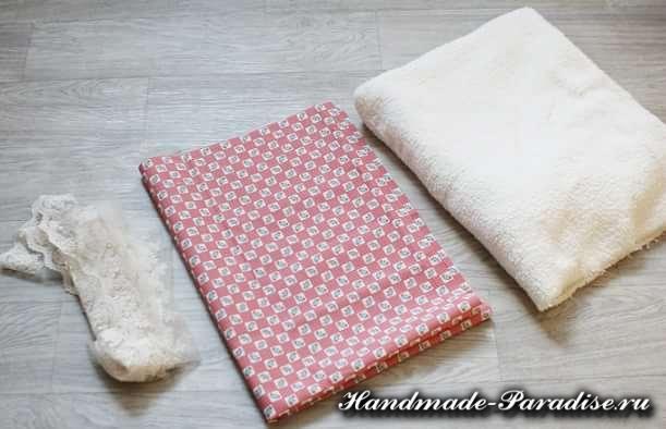 Как сшить теплое одеяло для новорожденного (2)