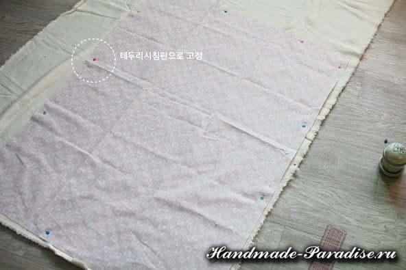 Как сшить теплое одеяло для новорожденного (3)