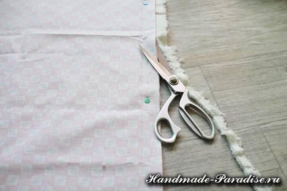 Как сшить теплое одеяло для новорожденного (4)