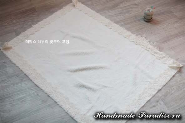Как сшить теплое одеяло для новорожденного (5)