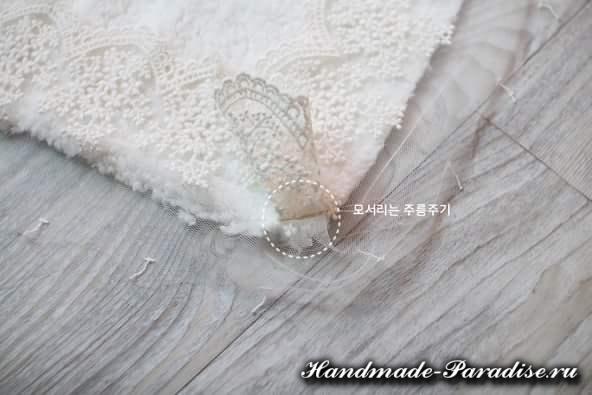 Как сшить теплое одеяло для новорожденного (6)