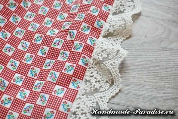 Как сшить теплое одеяло для новорожденного (8)