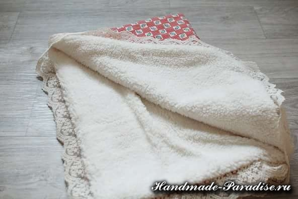 Как сшить теплое одеяло для новорожденного (9)