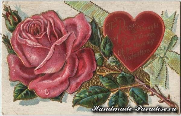 Картинки для декупажа ко дню Святого Валентина