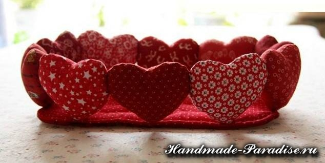 Корзинка с сердечками ко дню Святого Валентина (2)