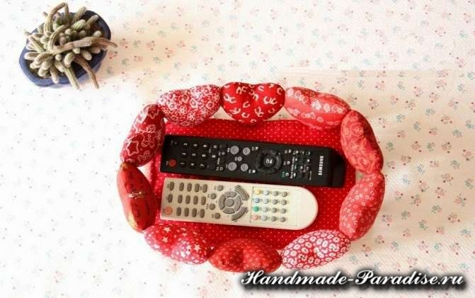 Корзинка с сердечками ко дню Святого Валентина (5)