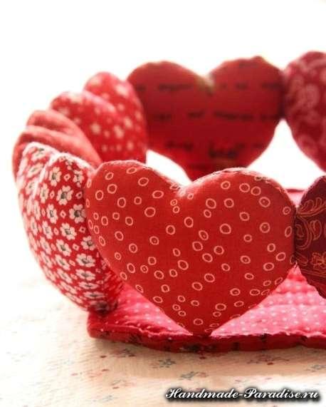Корзинка с сердечками ко дню Святого Валентина (7)