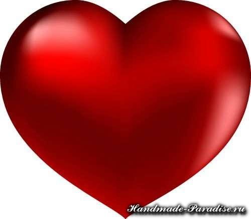 Корзинка с сердечками ко дню Святого Валентина (8)